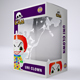 Vinyl Toy Box with Die Cut Window Packaging Mock-Up - GraphicRiver Item for Sale