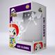 Vinyl Toy Box with Die Cut Window Packaging Mock-Up