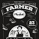 Farmer Market Flyer Template - GraphicRiver Item for Sale