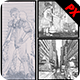 3 Sketch Art Bundle :: Phot-Graphicriver中文最全的素材分享平台