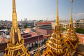 The ancient Loha Prasart buddhist temple in Bangkok, Thailand - PhotoDune Item for Sale