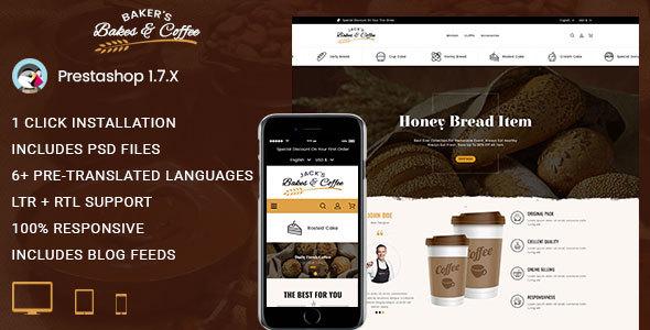 Bakers - Prestashop 1.7 Responsive Theme - PrestaShop eCommerce