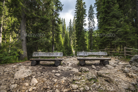 Benches - Stock Photo - Images