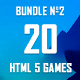 20 HTML5 Games + Mobile Version!!! MEGA BUNDLE №2 (Construct 2 / CAPX) - CodeCanyon Item for Sale