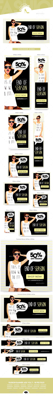 Fashion Banner Ads Vol.7 - Web Elements