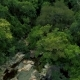 Rocky River and Green Forest in Mountain Aerial Landscape - VideoHive Item for Sale