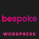 Free Download Bespoke - Onepage Creative WordPress Theme Nulled