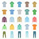 Set of Clothing - GraphicRiver Item for Sale