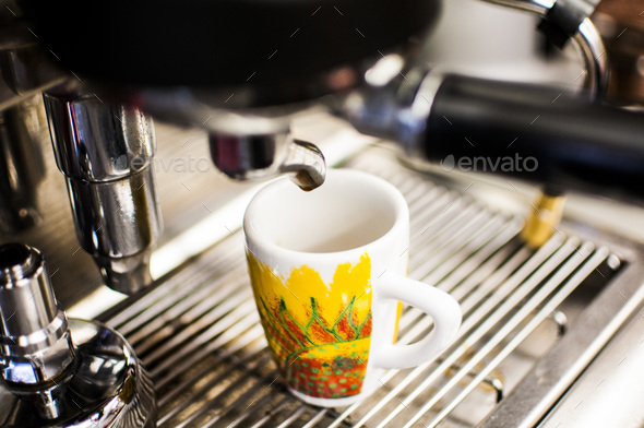 Espresso time - Stock Photo - Images