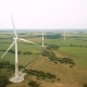 Aerial View of Wind Farms - VideoHive Item for Sale