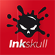 Inkskull Logo - GraphicRiver Item for Sale