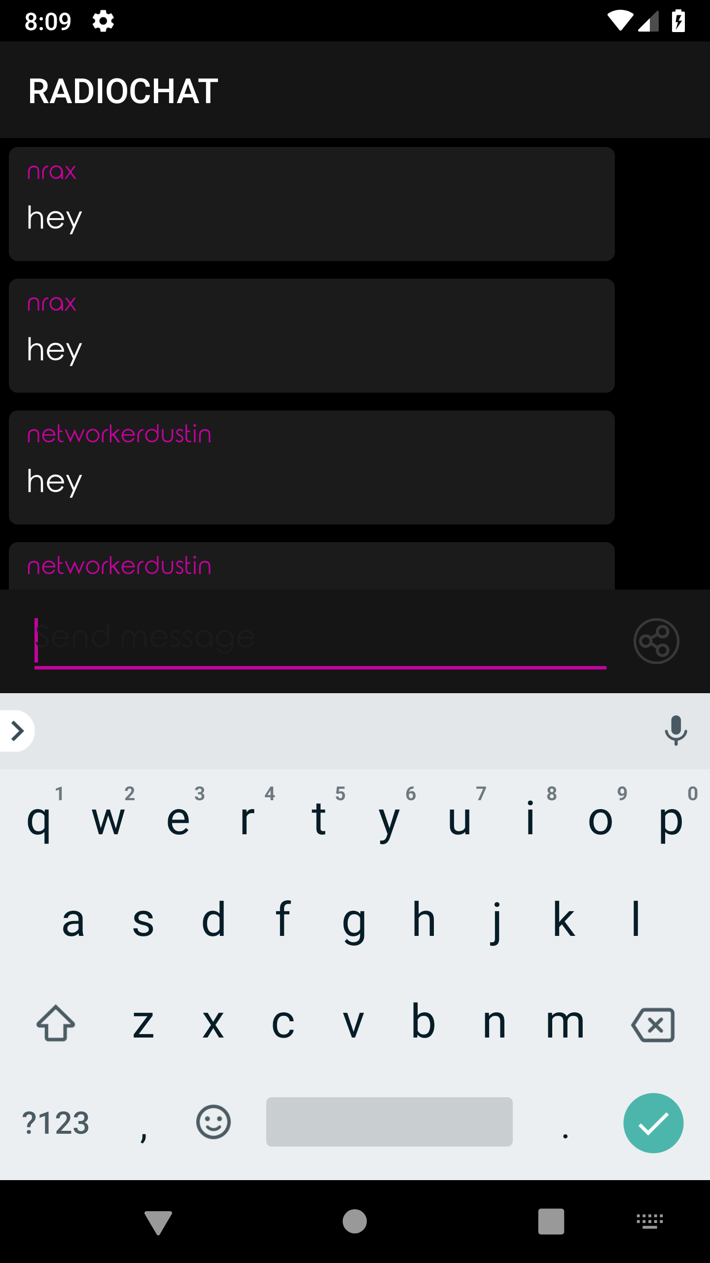 Radio & Chat (multi) Android