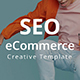 SEO eCommerce - Creative Google Slide Template - GraphicRiver Item for Sale