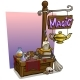 Cartoon Magic Vendor Booth Market Wooden Stand - GraphicRiver Item for Sale