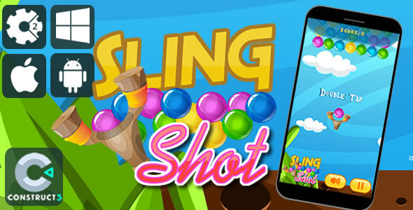 Sling Shot Html5 Game            Nulled