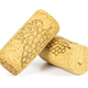 Wine corks on white background - PhotoDune Item for Sale
