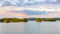 Pogoria 4 lake at sunset - PhotoDune Item for Sale