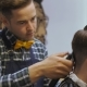 Hairdresser for Men. Barbershop. Hair Care. Hairdresser with a Haircut Works for a Hairstyle for a - VideoHive Item for Sale