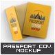 Passport Cover Mock-Up - GraphicRiver Item for Sale