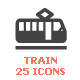 Train & Transport Filled Icon - GraphicRiver Item for Sale