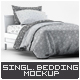 Single Bedding Mock-Up - GraphicRiver Item for Sale