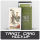 Tarot Card Mock-Up - GraphicRiver Item for Sale