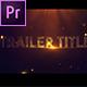 Trailer Title V.3 - VideoHive Item for Sale