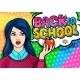 Young Woman Teacher Back to School - GraphicRiver Item for Sale