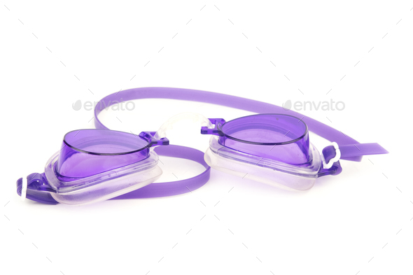 glasses for swimming - Stock Photo - Images