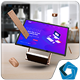 Surface Studio Mockup V.3 - GraphicRiver Item for Sale