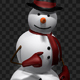 Snowman 3D Character - Walk And Run (4-Pack) - VideoHive Item for Sale