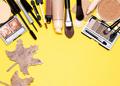 Autumn makeup frame background - PhotoDune Item for Sale