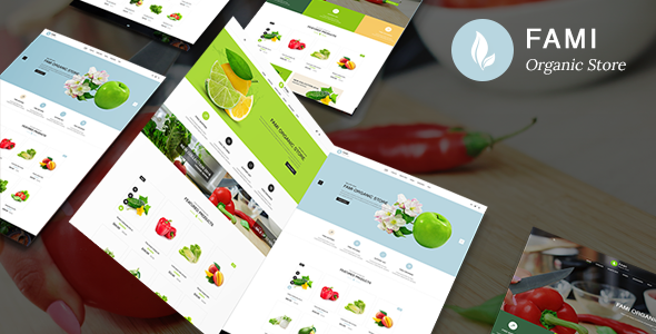 Fami - Organic Fresh Fruits Responsive Prestashop 1.7 Theme - Health & Beauty PrestaShop