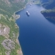 Aerial View of Geiranger Fjord, Norway - VideoHive Item for Sale