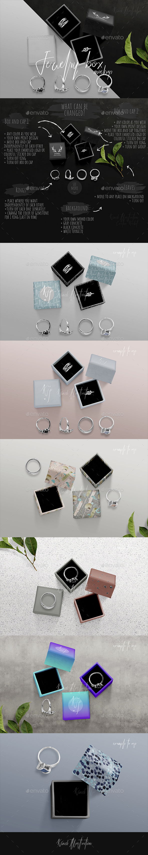 Jewelry Boxes Mockup - Miscellaneous Packaging