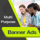 Multipurpose Banner Ads Template - GraphicRiver Item for Sale