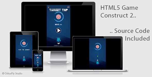 Target Tap - HTML5 Game (Construct 2)            Nulled