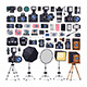 Photographer Equipment in Flat Style - GraphicRiver Item for Sale