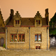 Little Old House In Bruges At Night - PhotoDune Item for Sale