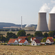 Nuclear Power Station Behind Living Houses - PhotoDune Item for Sale