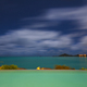 Pool And Caribbean Sea At Night, Antigua - PhotoDune Item for Sale