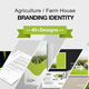 Agriculture Farm House Branding Identity - GraphicRiver Item for Sale