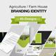 Agriculture Farm House Branding Identity