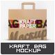 Kraft Paper Bag Mock-Up - GraphicRiver Item for Sale