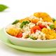 Seafood barley salad with prawns - PhotoDune Item for Sale