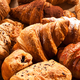 An assortment of different fresh croissants - PhotoDune Item for Sale