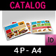 Food Products Catalog Bi-Fold Brochure Template - GraphicRiver Item for Sale