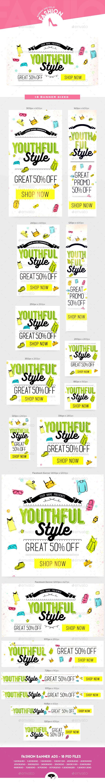Fashion Banner Ads Vol.6 - Web Elements