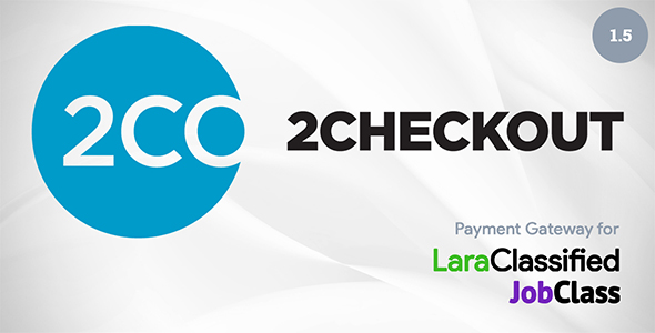 2Checkout Payment Gateway Plugin - CodeCanyon Item for Sale