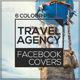 Travel Agency Facebook Covers II - GraphicRiver Item for Sale